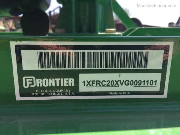 2016 Frontier RC2060