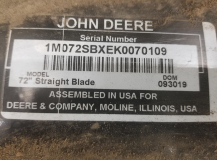 2020 John Deere 8019M