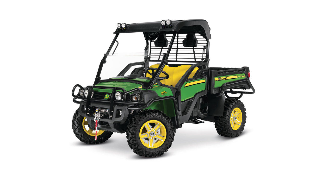 John Deere XUV855D Power Steering