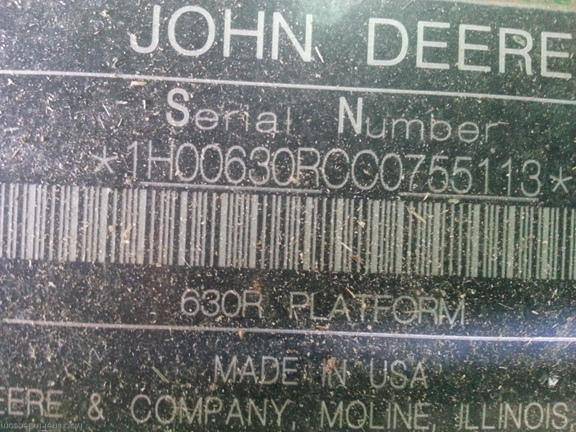 2013 John Deere 630R