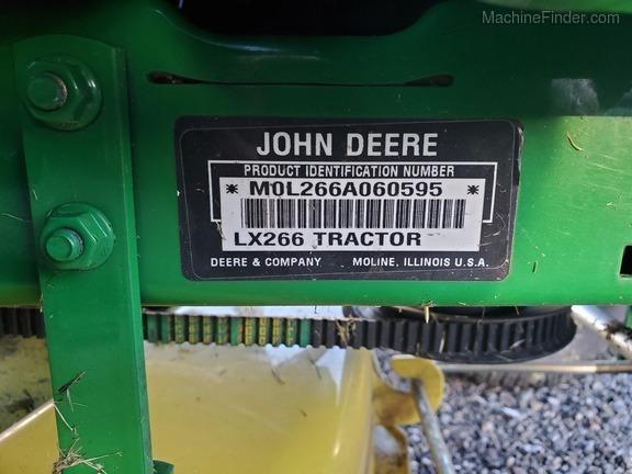 2002 John Deere LX266