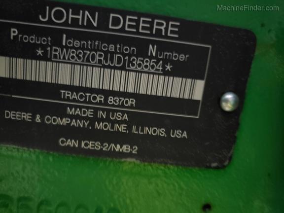 2018 John Deere 8370R