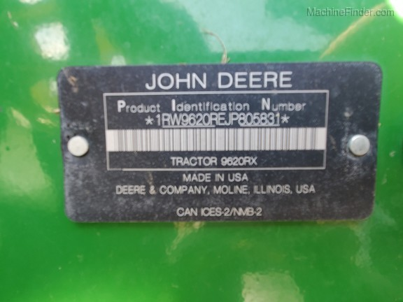 2018 John Deere 9620RX