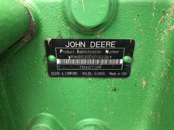 2007 John Deere 8530