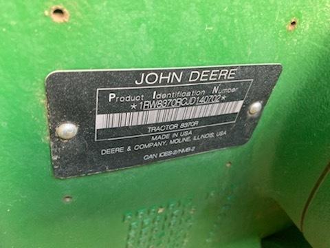 2019 John Deere 8370R