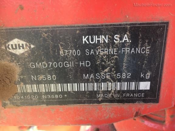 2014 Kuhn GMD700