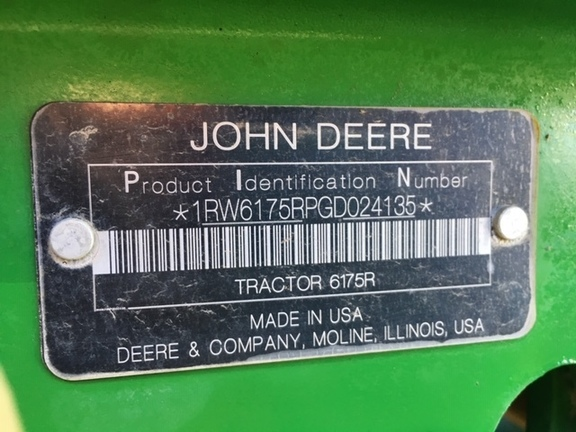 2016 John Deere 6175R