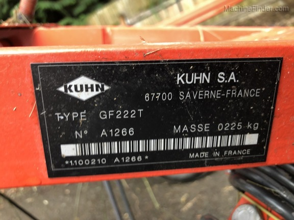 2015 Kuhn GF222T