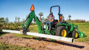 Compact Tractor Backhoe Attachment