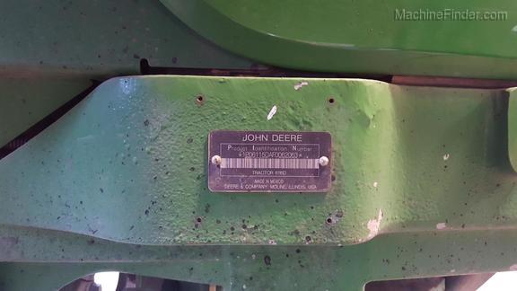 2015 John Deere 6115D