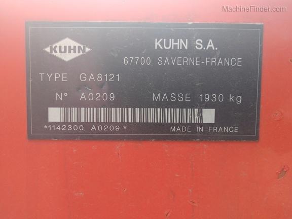 2014 Kuhn GA8121