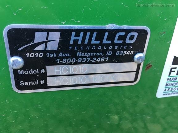 2018 Hillco HC1010
