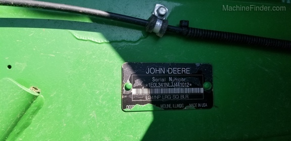 2018 John Deere L341