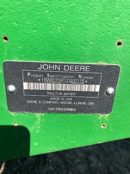 2018 John Deere 8370RT