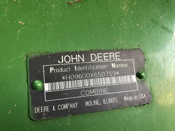 1993 John Deere 9600