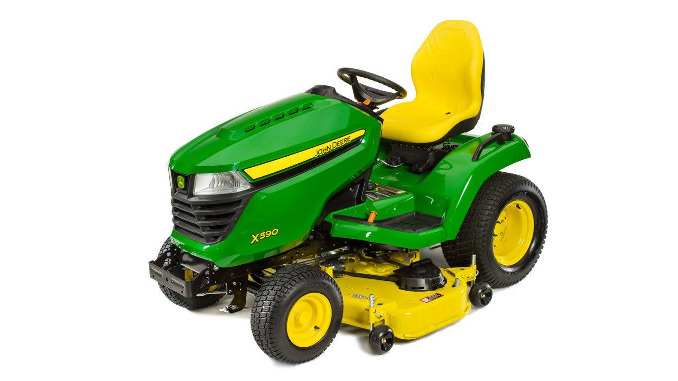 John Deere X590, 48-in. Deck