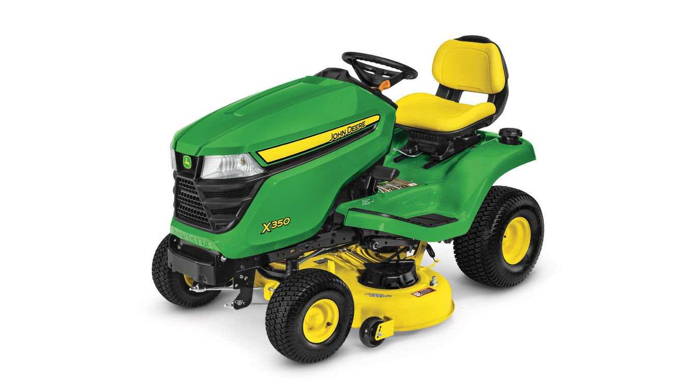 John Deere X350, 42-in. deck