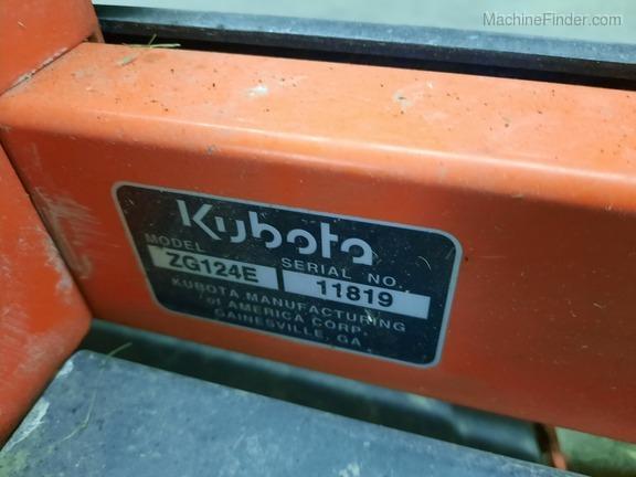 2013 Kubota ZG124E