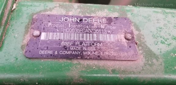 2010 John Deere 635F