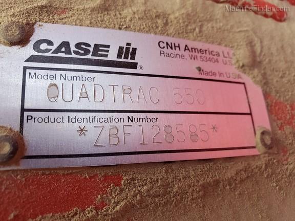 2012 Case 550