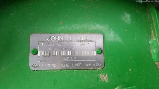 2004 John Deere 9860