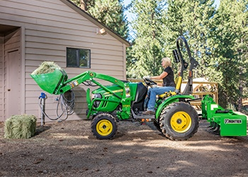 2025R John Deere Compact Utility Tractors 2 Family