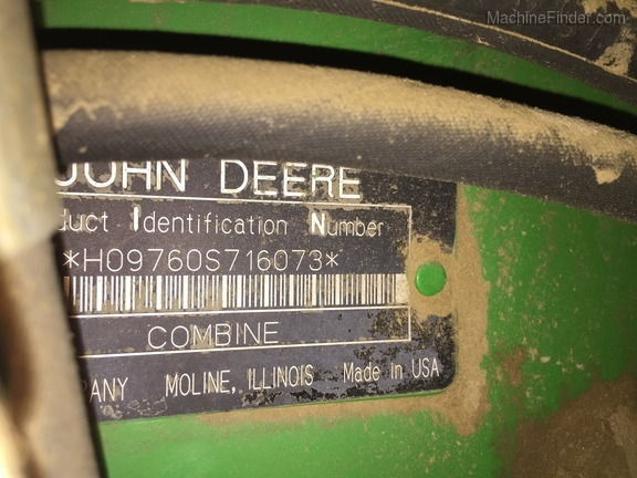 2006 John Deere 9760