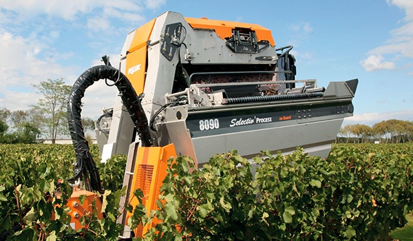 Pellenc 8090 Tower Harvester Equipment Image