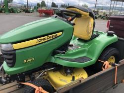 2012 John Deere X300