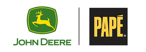 John Deere and Pape Logo Image