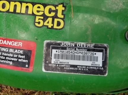 2012 John Deere 1023E