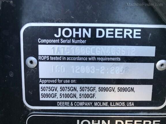 2017 John Deere 5100GN