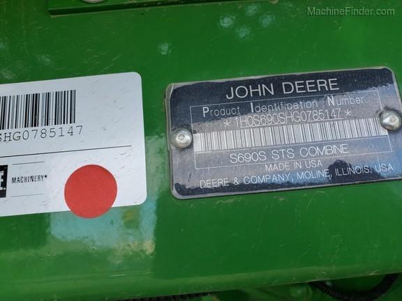 2016 John Deere S690