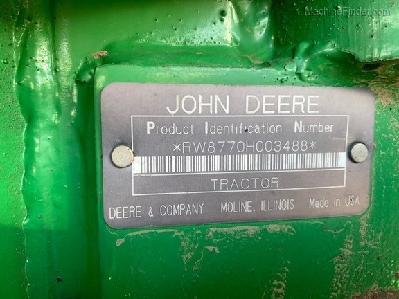 1995 John Deere 8770