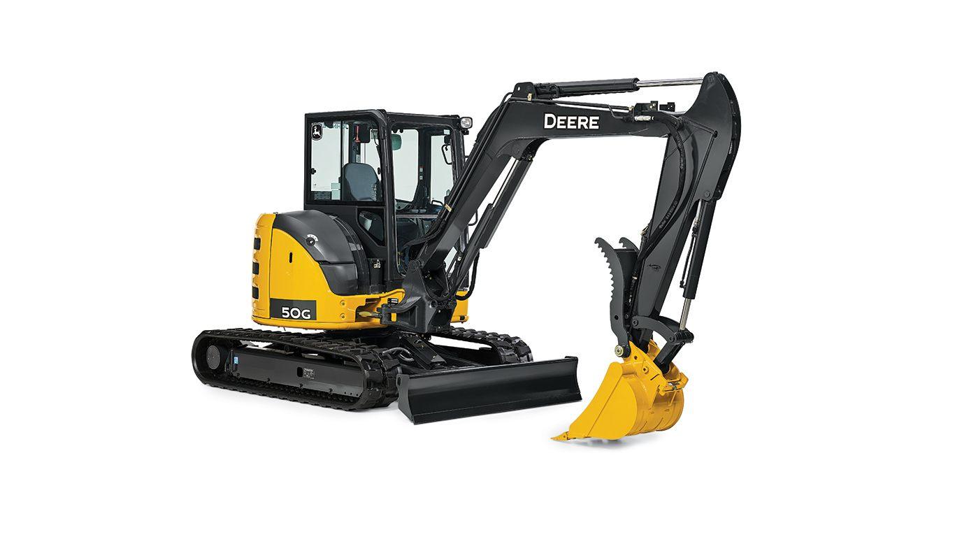 John Deere Compact Excavators Equipment Image