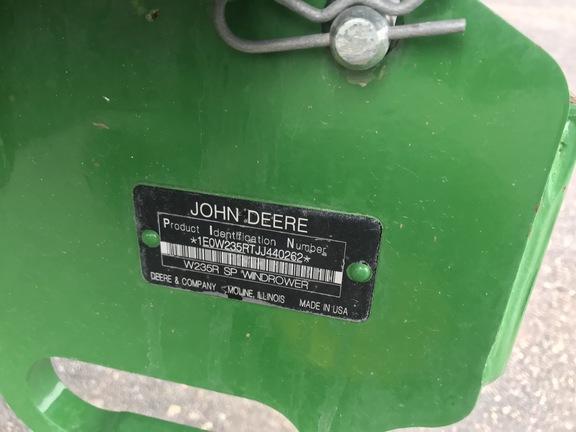 2018 John Deere W235