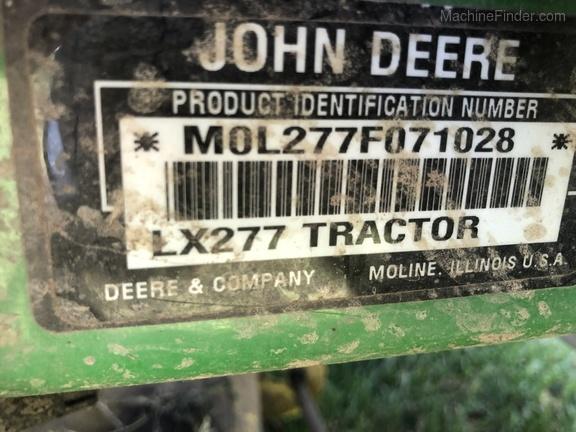 2003 John Deere LX277