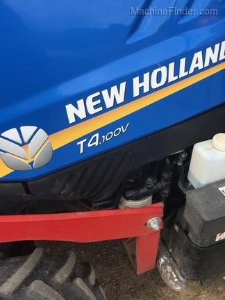 2015 New Holland T4100V
