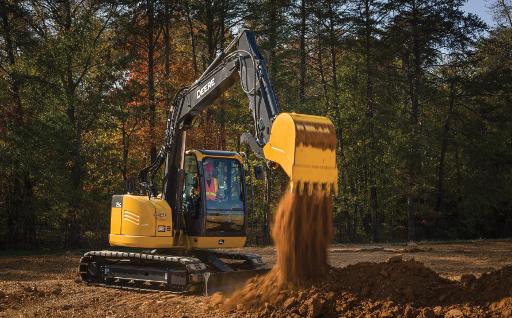 John Deere Compact Excavators
