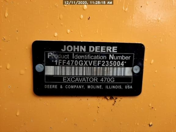 2014 John Deere 470GLC