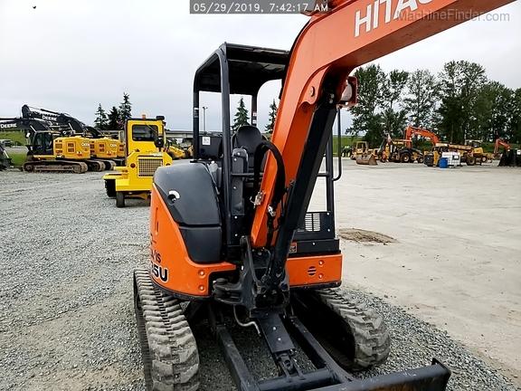 2018 Hitachi ZX35U5