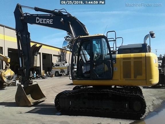 2016 John Deere 210GLC