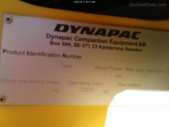 2012 Dynapac CC624H