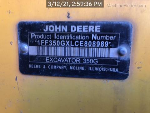 2012 John Deere 350GLC