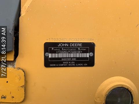 2012 John Deere 326D