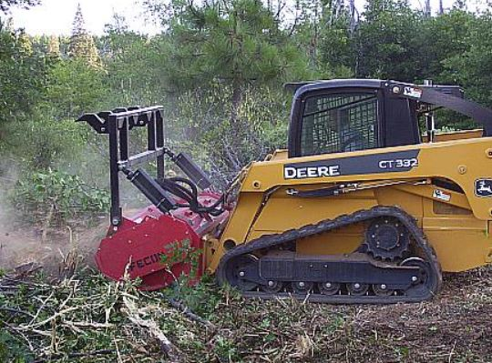 Fecon Bull Hog Skid Steer Attachment