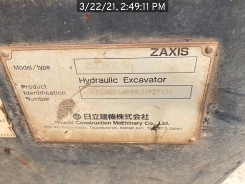 2016 Hitachi ZX1355