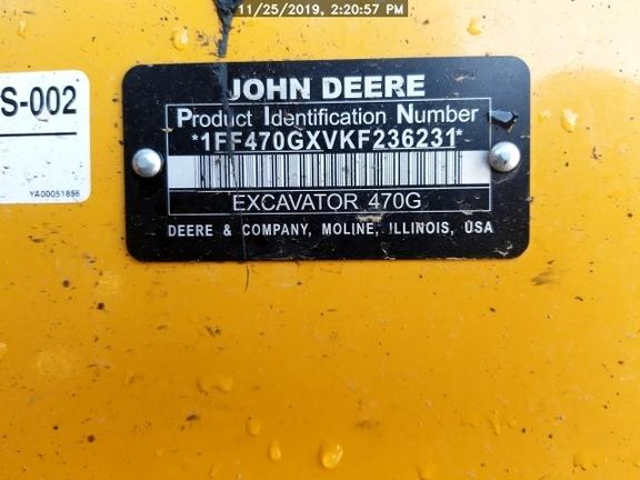 2019 John Deere 470GLC