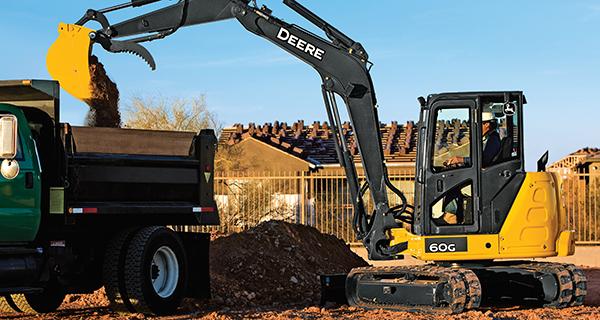 60G - Compact Excavator
