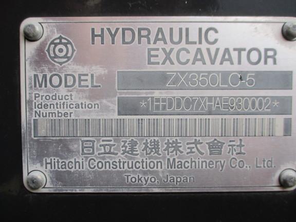 2010 Hitachi ZX350